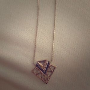 Express Jewelry - Long pendant necklace
